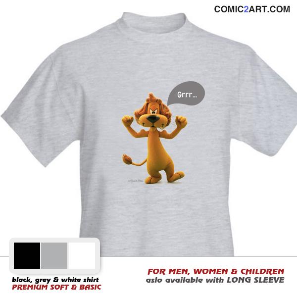 LOEKI-Tshirt-Grrr