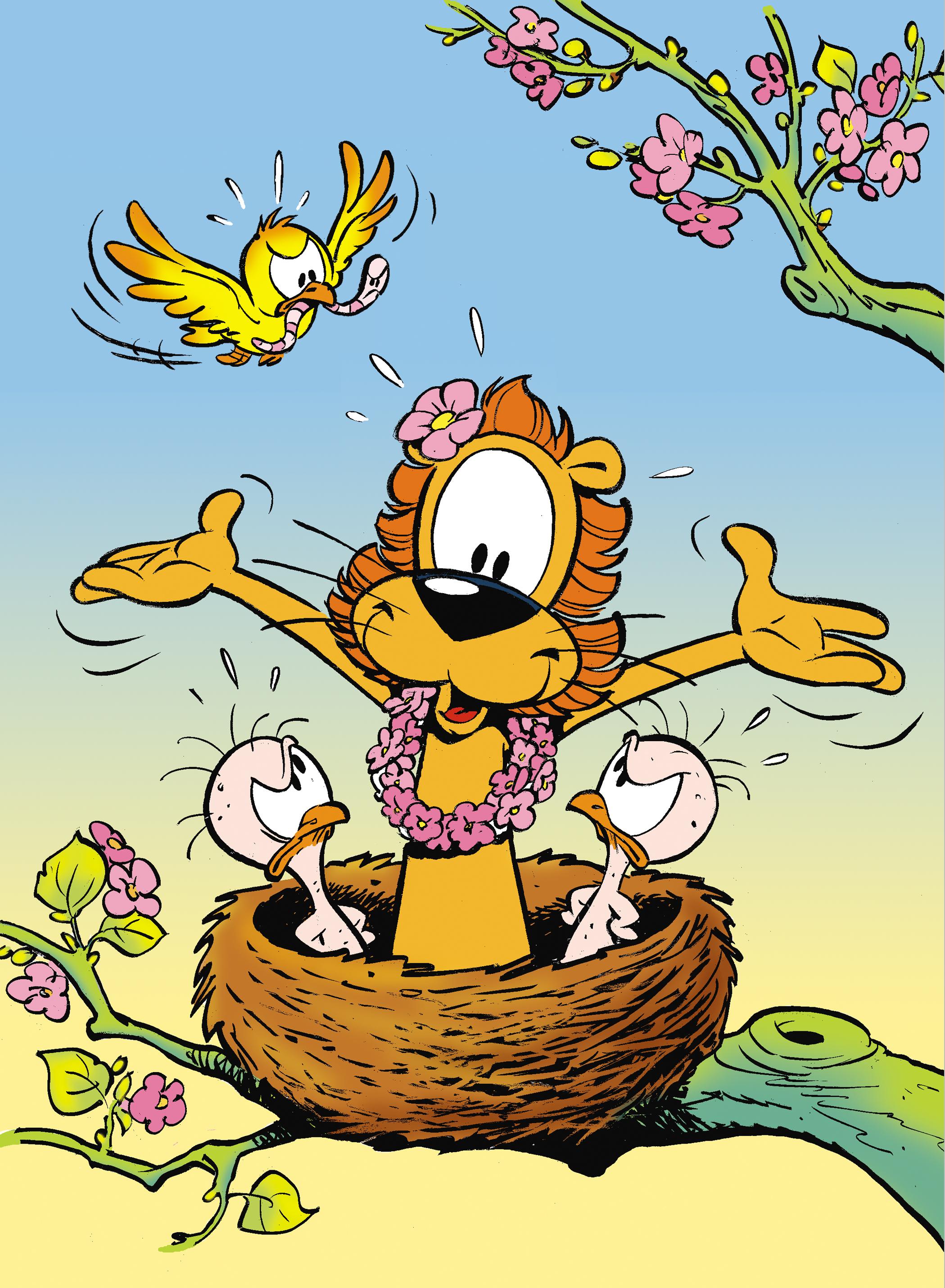 Loeki lente nestje verkleind